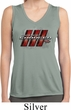 Ladies Dodge Charger RT Logo Sleeveless Dry Wicking Shirt