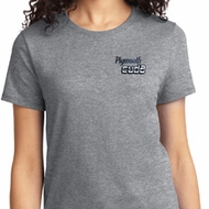 Ladies Dodge Plymouth Cuda Pocket Print Shirt