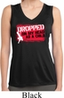 Ladies Dropped On My Head Sleeveless Moisture Wicking Tee T-Shirt