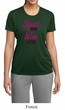 Ladies Fitness Shirt Squat Now Wine Later Moisture Wicking Tee T-Shirt