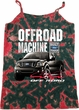 Ladies Ford F-150 4X4 Off Road Machine Tie Dye Camisole Tank Top