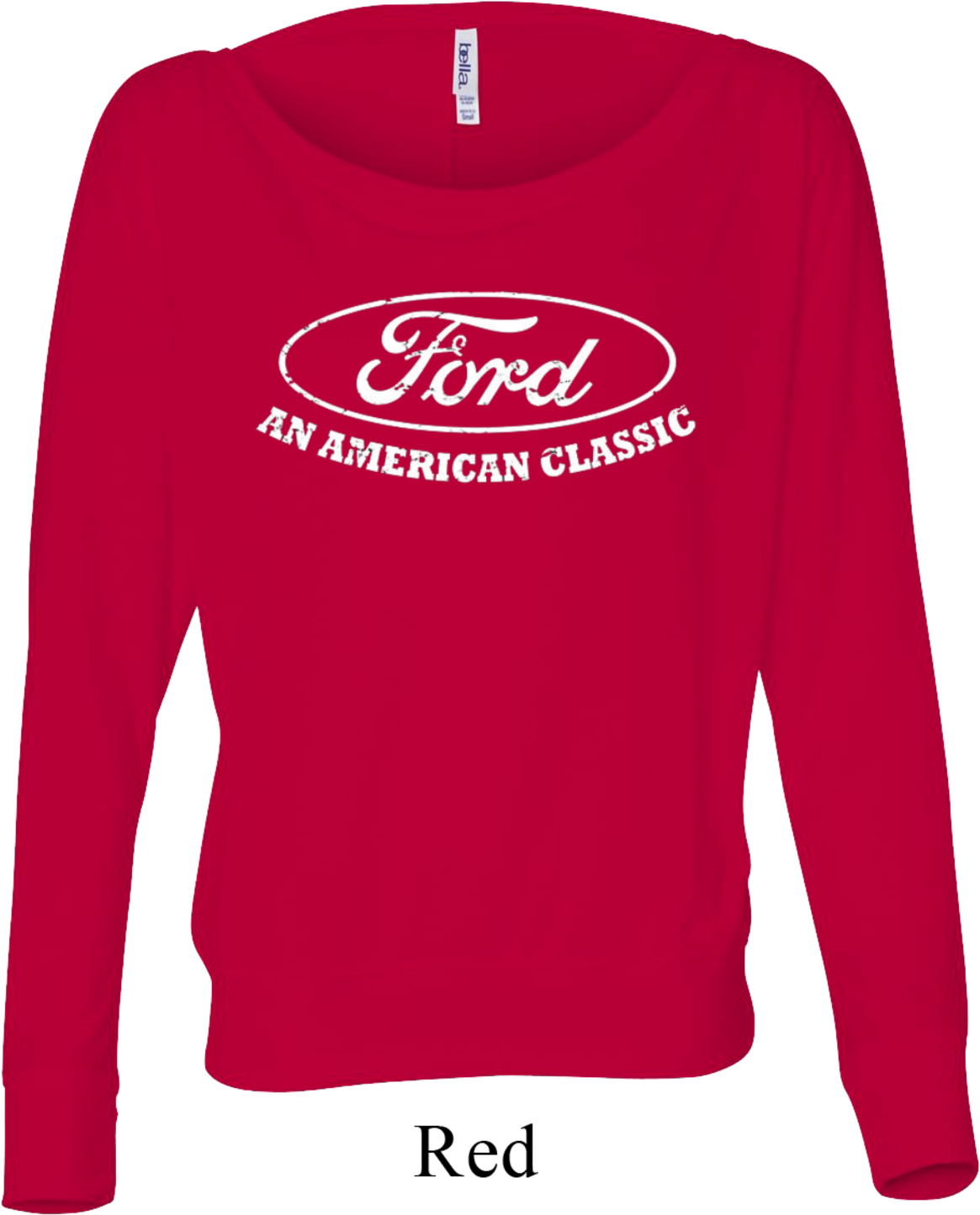 Ladies ford shirt an american classic off shoulder shirt for All american classic shirt