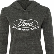 Ladies Ford Shirt An American Classic Tri Blend Hoodie Shirt