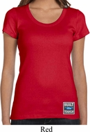 Ladies Ford Shirt Built Ford Tough Bottom Print Scoop Neck Tee T-Shirt