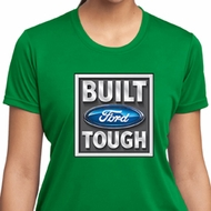 Ladies Ford Shirt Built Ford Tough Moisture Wicking Tee T-Shirt
