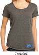 Ladies Ford Shirt Ford Oval Bottom Print Lace Back Tee T-Shirt