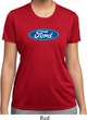 Ladies Ford Shirt Ford Oval Moisture Wicking Tee T-Shirt