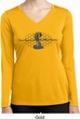 Ladies Ford Shirt Powered By Cobra Dry Wicking Long Sleeve Shirt