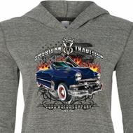 Ladies Ford Shirt The American Tradition Tri Blend Hoodie Shirt