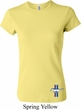 Ladies Ford Shirt The Legend Lives Crest Bottom Print Crewneck Tee