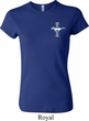 Ladies Ford Shirt The Legend Lives Crest Crewneck Tee T-Shirt