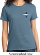 Ladies Ford Shirt The Legend Lives Crest Tee T-Shirt