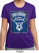 Ladies Ford Shirt V8 Genuine Ford Parts Moisture Wicking Tee T-Shirt