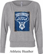 Ladies Ford Shirt V8 Genuine Ford Parts Off Shoulder Tee T-Shirt