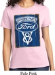 Ladies Ford Shirt V8 Genuine Ford Parts Tee T-Shirt
