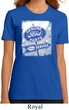Ladies Ford Shirt Vintage Sign Genuine Ford Parts Organic Tee T-Shirt