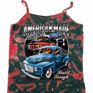 Ladies Ford Tanktop American Made Tie Dye Camisole Tank Top