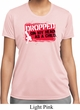 Ladies Funny Shirt Dropped On My Head Moisture Wicking Tee T-Shirt