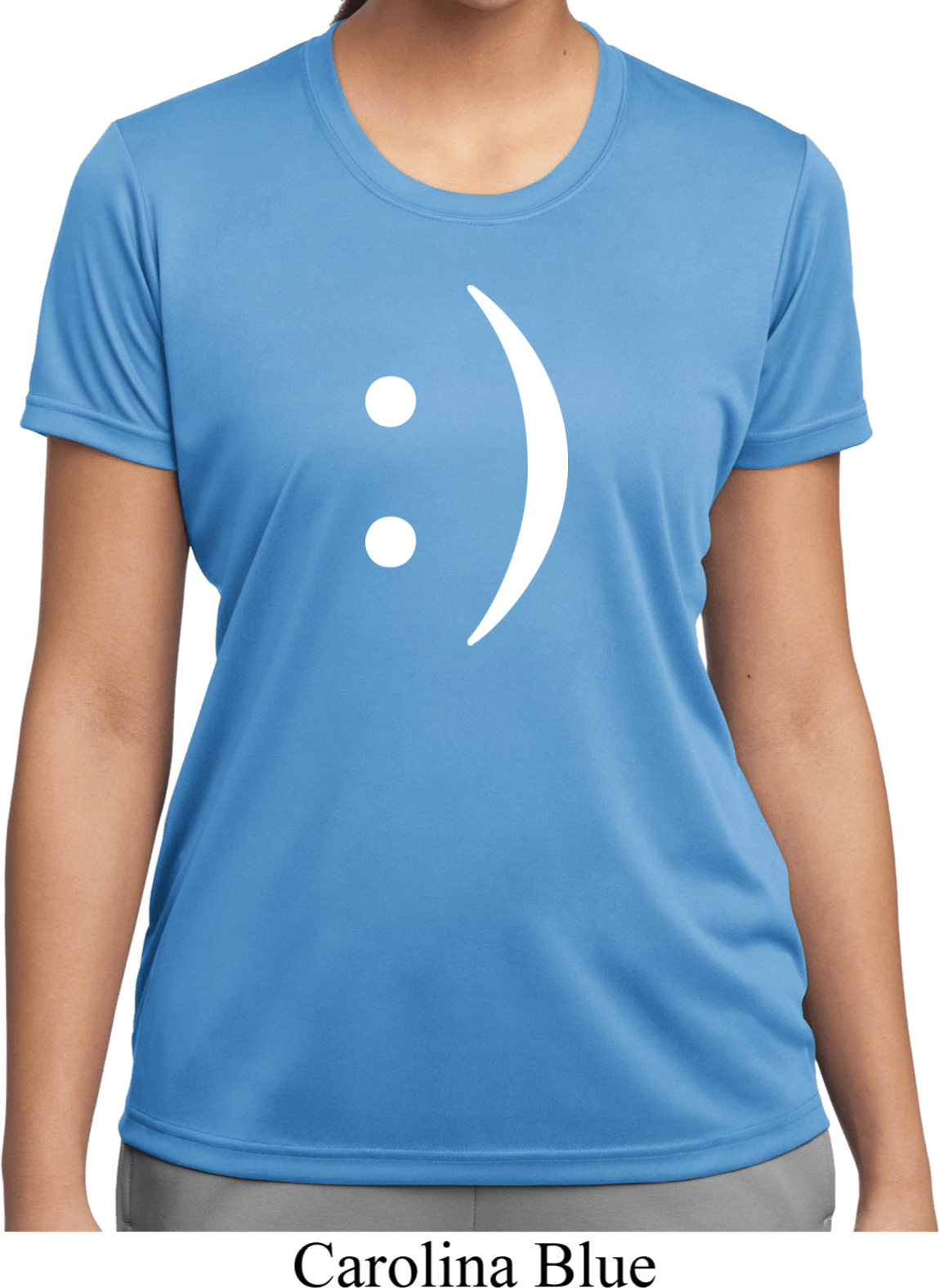 ladies funny shirt smiley chat face moisture wicking tee t shirt smiley chat face ladies funny. Black Bedroom Furniture Sets. Home Design Ideas
