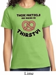 Ladies Funny Shirt Thirsty Pretzels Tee T-Shirt
