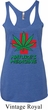 Ladies Funny Tanktop Natures Medicine Tri Blend Racerback Tank Top