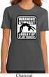 Ladies Gymnastics Shirt Warning Gymnast Could Flip Organic Tee T-Shirt