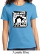 Ladies Gymnastics Shirt Warning Gymnast Could Flip Tee T-Shirt