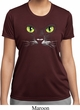 Ladies Halloween Shirt Black Cat Moisture Wicking Tee T-Shirt