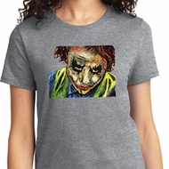 Ladies Joker Face Shirt