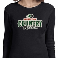 Ladies Mossy Oak Country Roots Long Sleeve Shirt