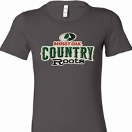 Ladies Mossy Oak Country Roots Longer Length Shirt