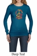 Ladies Peace Shirt Funky Peace Long Sleeve Thermal Tee T-Shirt