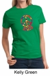 Ladies Peace Shirt Funky Peace Tee T-Shirt