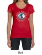 Ladies Peace Shirt Give Peace a Chance Scoop Neck Tee T-Shirt