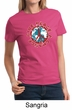 Ladies Peace Shirt Give Peace a Chance Tee T-Shirt