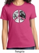Ladies Peace Shirt Peace Earth Tee T-Shirt