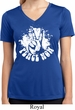 Ladies Peace Shirt Peace Now Moisture Wicking V-neck Tee