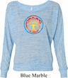 Ladies Peace Shirt Psychedelic Peace Off Shoulder Tee T-Shirt