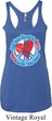 Ladies Peace Tanktop All You Need is Love Tri Blend Racerback Tank Top
