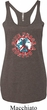 Ladies Peace Tanktop Give Peace a Chance Tri Blend Racerback Tank Top