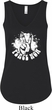 Ladies Peace Tanktop Peace Now Flowy V-neck Tank Top