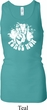 Ladies Peace Tanktop Peace Now Longer Length Racerback Tank