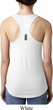 Ladies Pineapple Patch Back Print Ideal Racerback
