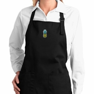 Ladies Pineapple Patch Full Length Apron with Pockets
