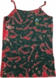 Ladies Pineapple Patch Pocket Print Camisole Tank Top, Tie Dye