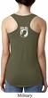Ladies Pow Mia Back Print Ideal Racerback
