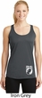Ladies Pow Mia Bottom Print Dry Wicking Racerback