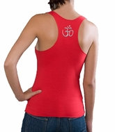 Ladies Racerback Aum Patch Tank - Raw Edge Tanktop