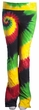 Ladies Rasta Colors Tie Dye Pants