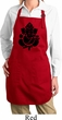 Ladies Shadow Ganesha Full Length Apron with Pockets